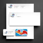 Città del Mare – Letterhead, Envelope, Business Card